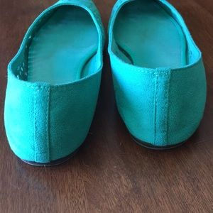 Old Navy Shoes - Old Navy teal ballet flats